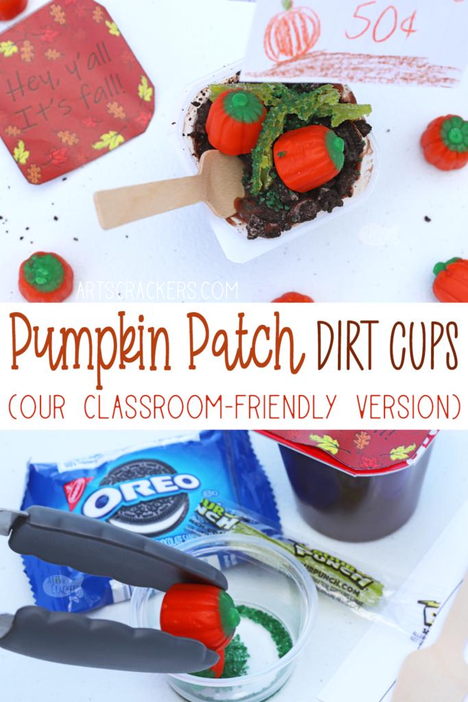 Pumpkin Patch Dirt Cups Kit